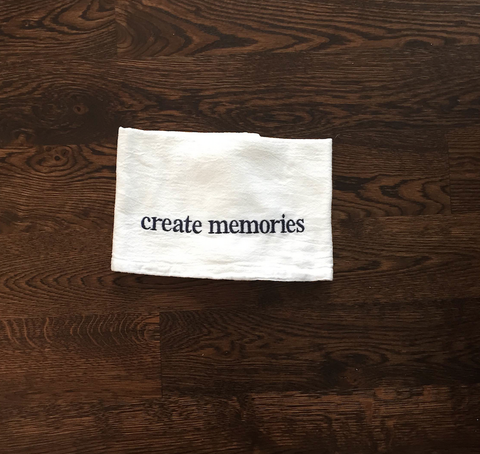 Create Memories Towel
