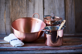 Pure Metal American Copper Cookware Bowl