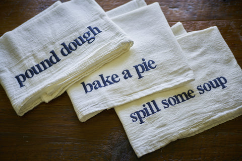 Soup Towel Trio