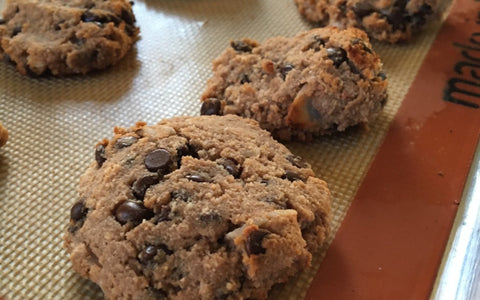 Paleo Chocolate Chip Coconut Cookies