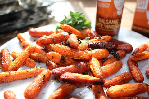 Date Lady Balsamic Date Vinegar Roasted Carrots