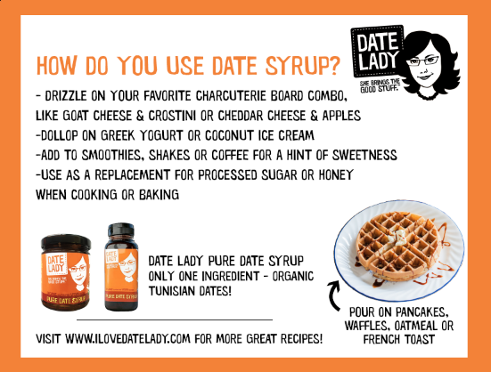 date syrup uses