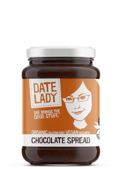 chocolate spread sweetened with date syrup