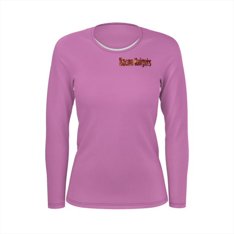 Bacon Knights Official Women's Long Sleeve Shirt