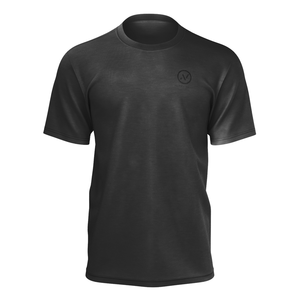 all black mens simple tshirt