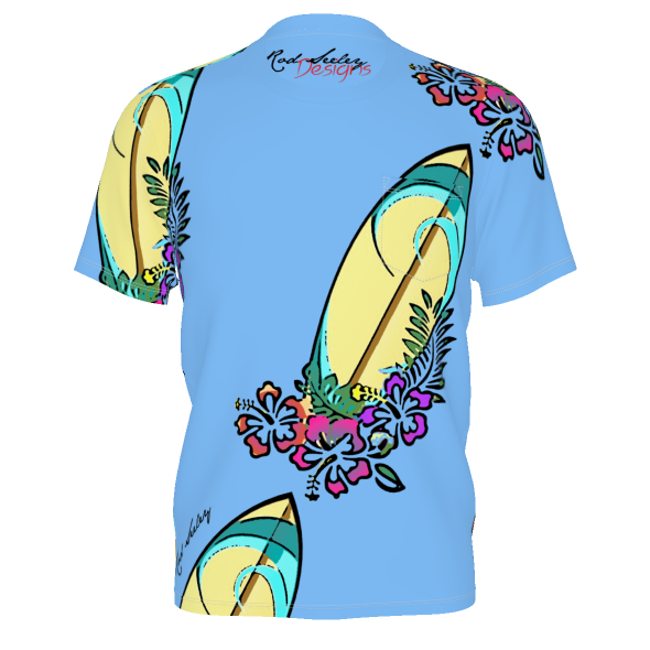 Surf Dreams 1- Men's Pocket Tee