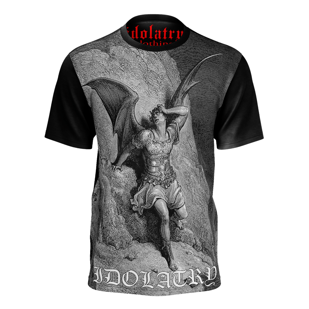 Black and Grey Devil Shirt