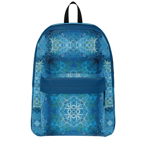Blue Celestial Geometry Backpack