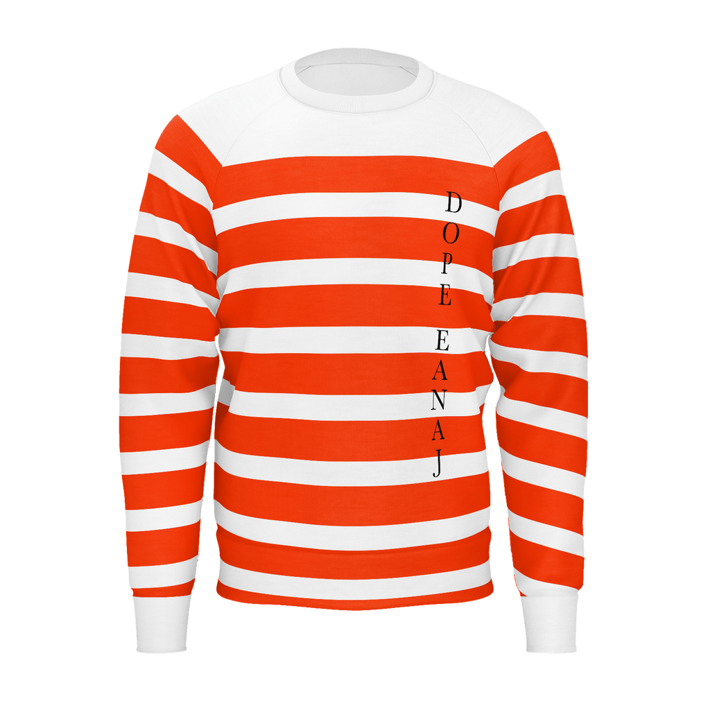 Oricale Stripe Sweater Men
