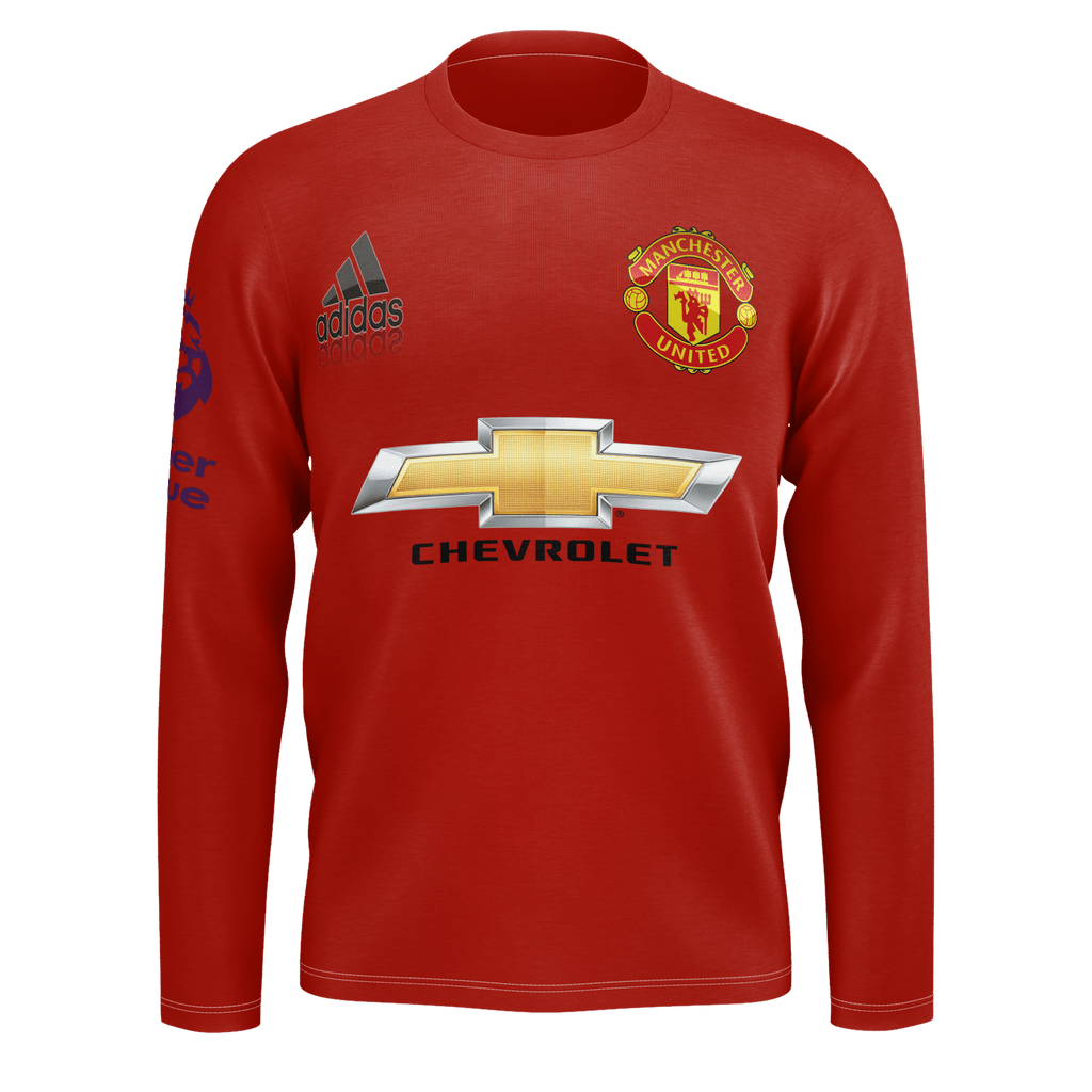Limited Edition Manchester United Home 2017 18 Kit On Skyou