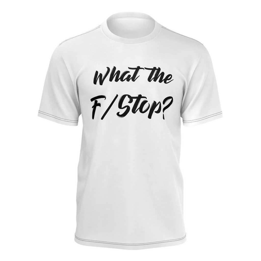 What the F/Stop? - White