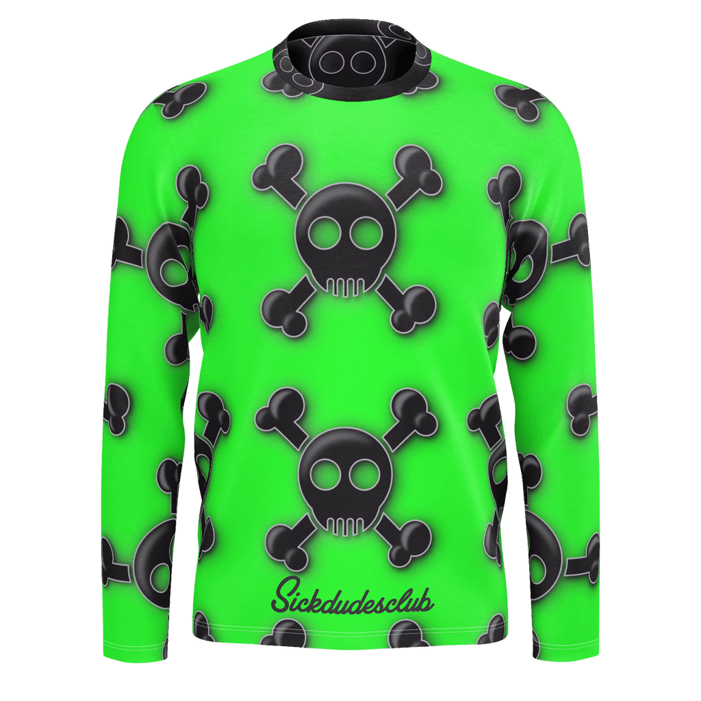 ill all toxic skully long sleeve
