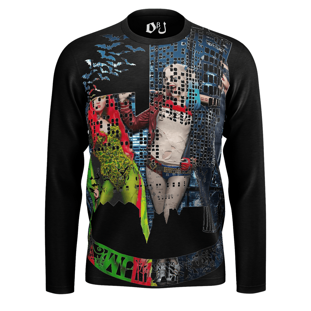 Gotham Sirens Men's Long Sleeve SJ T-Shirt