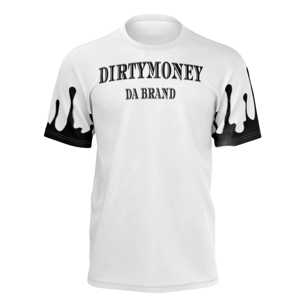 DIRTYMONEY DRIP TEE W/Black