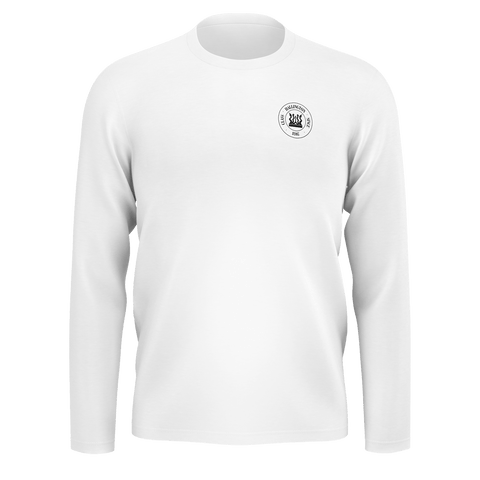 Hallington Long Sleeve [White Logo]