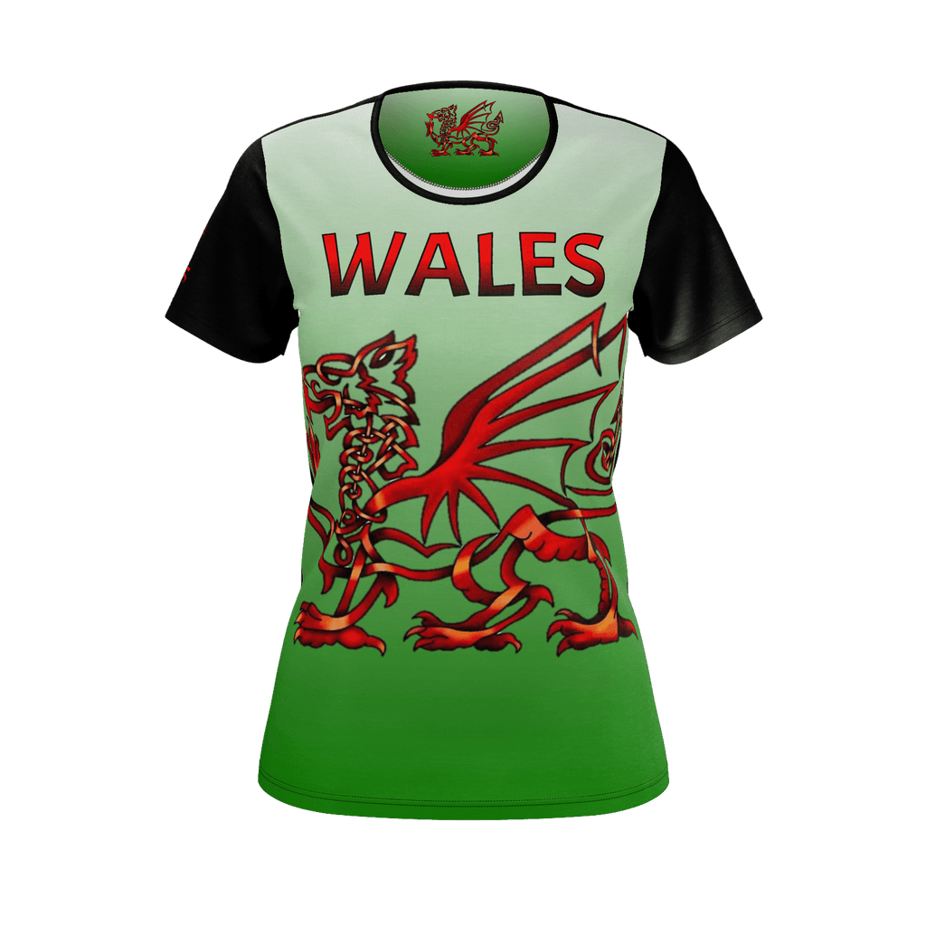 WALES FOREVER (Welsh & Proud) Woman's T-shirt