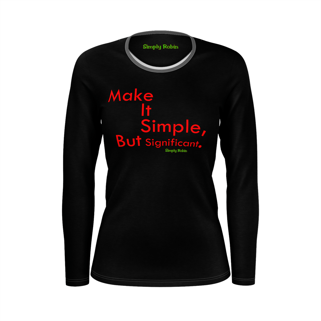 Make It Simple,But Significant. - Woman