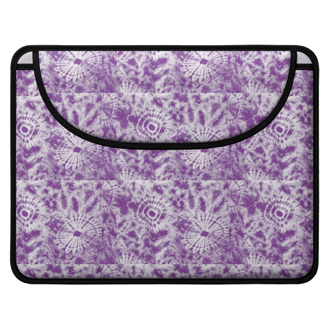 grape dye laptop sleeve