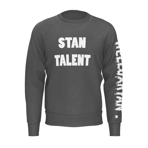 "SWEATSHIRT - ""STAN TALENT"" [BLACK]"