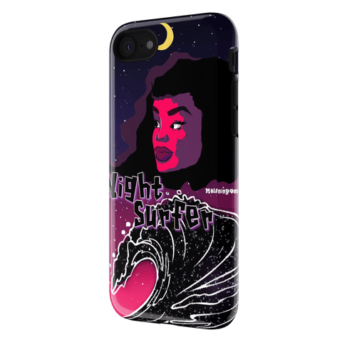 Night Surfer iPhone 7 Case