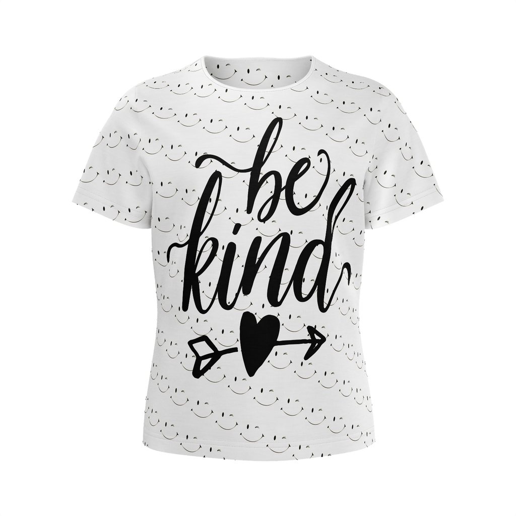 The girls t-shirt BE KIND