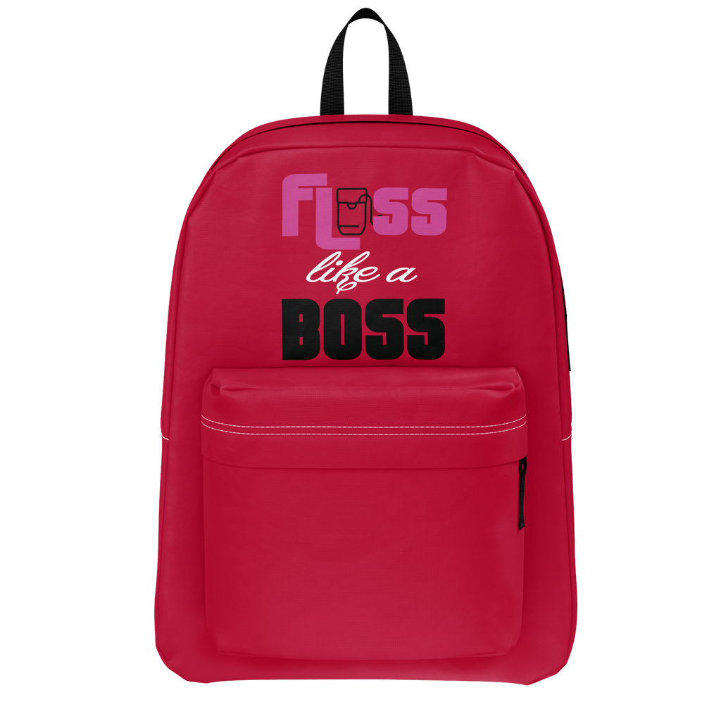 Floss like a boss school backpack