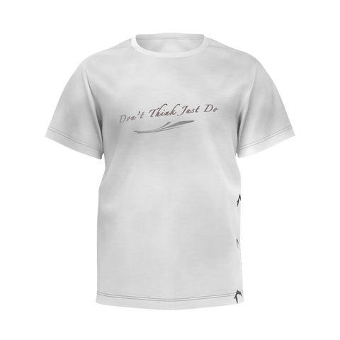 """Don't Think Just Do"" T-Shirt For Kids (Boys) // Skull Edition"