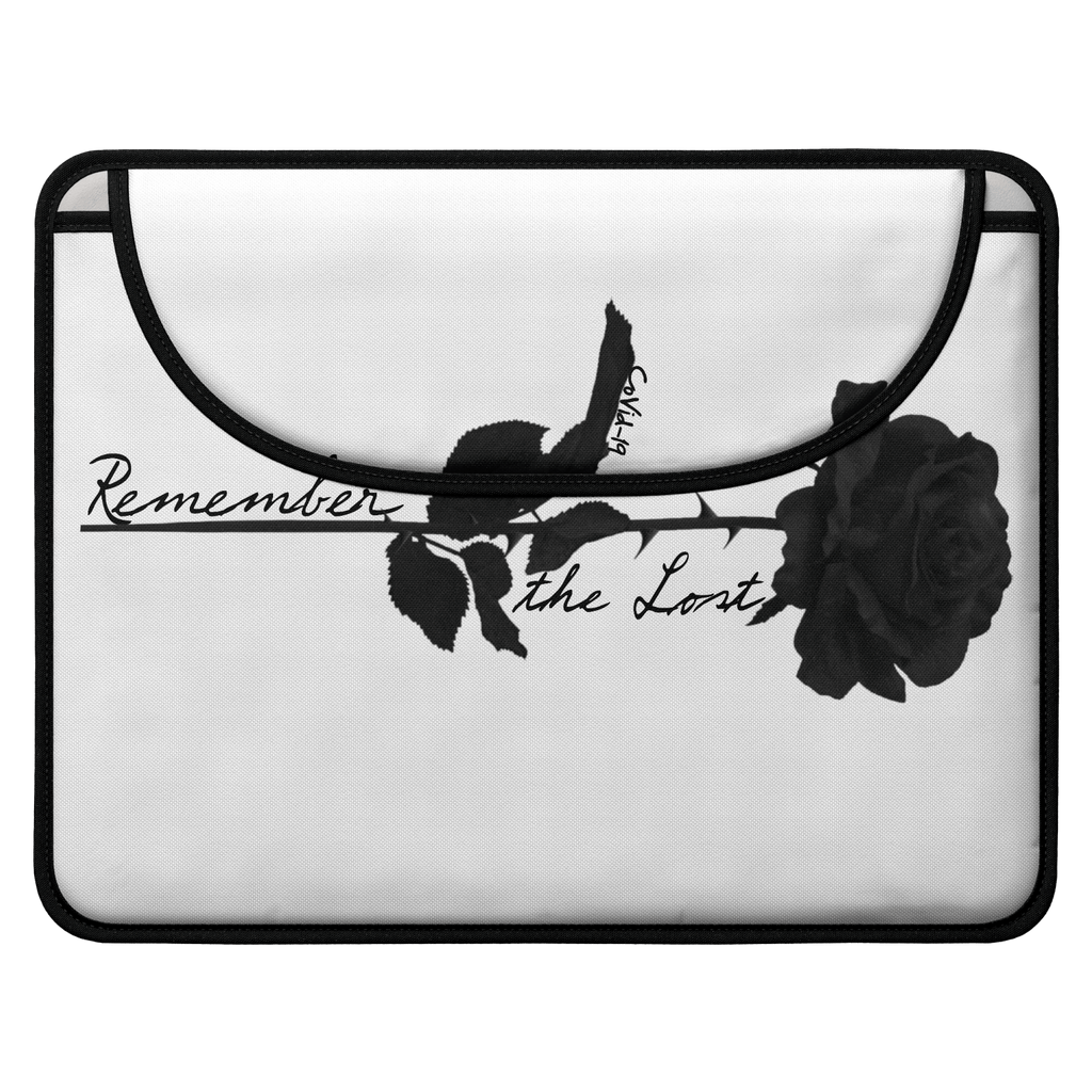 Remember the Lost Envelope Laptop Sleeve (White)