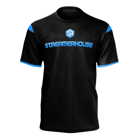 Streamerhouse Jersey Black