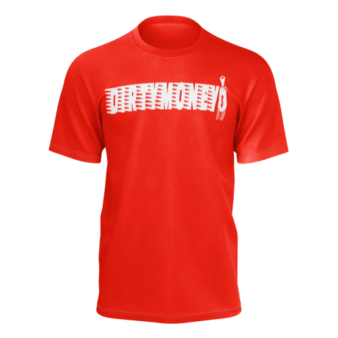 DIRTYMONE MBF TEE RED/WHITE