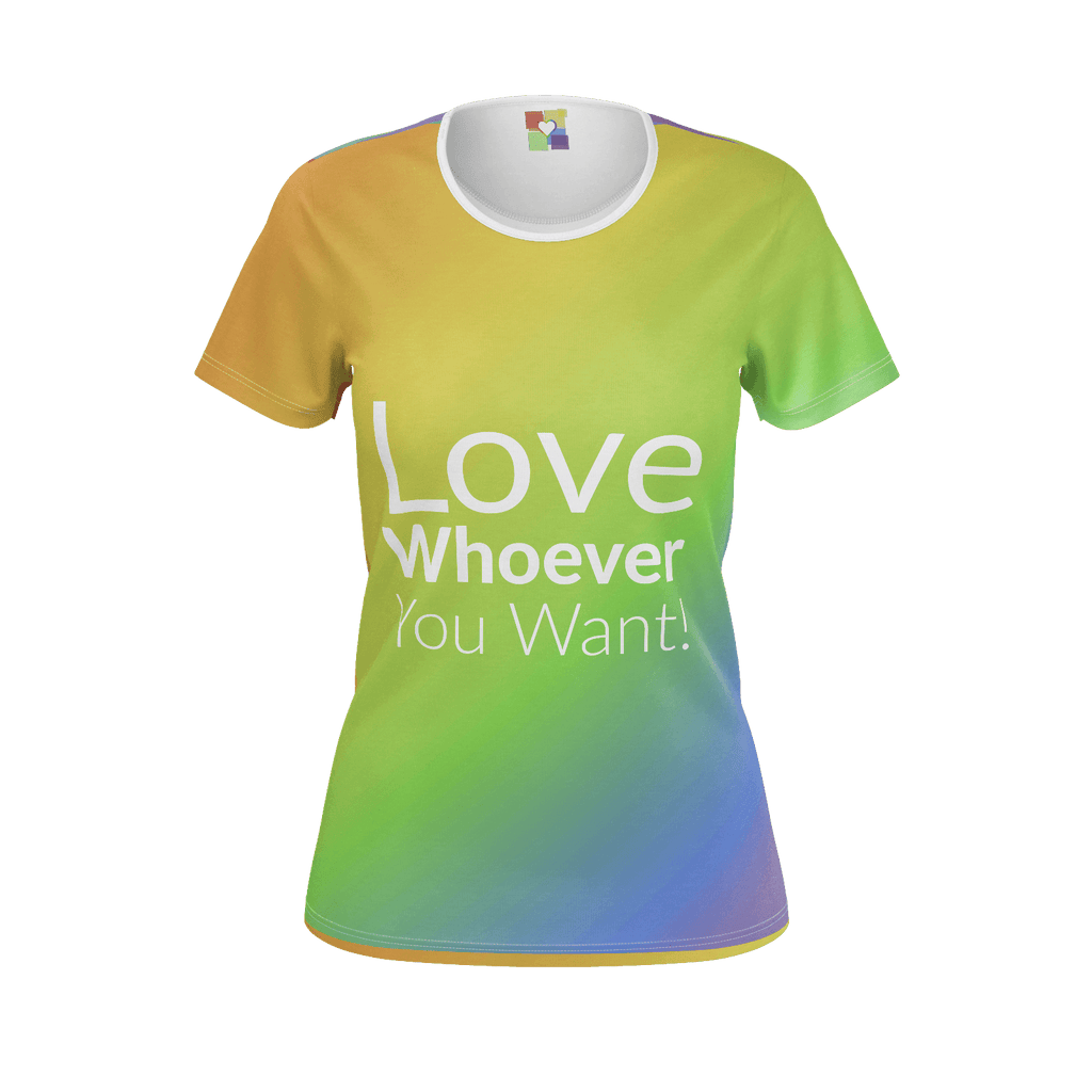 "Women: ""Love Whoever You Want (2018)"" T-Shirt"
