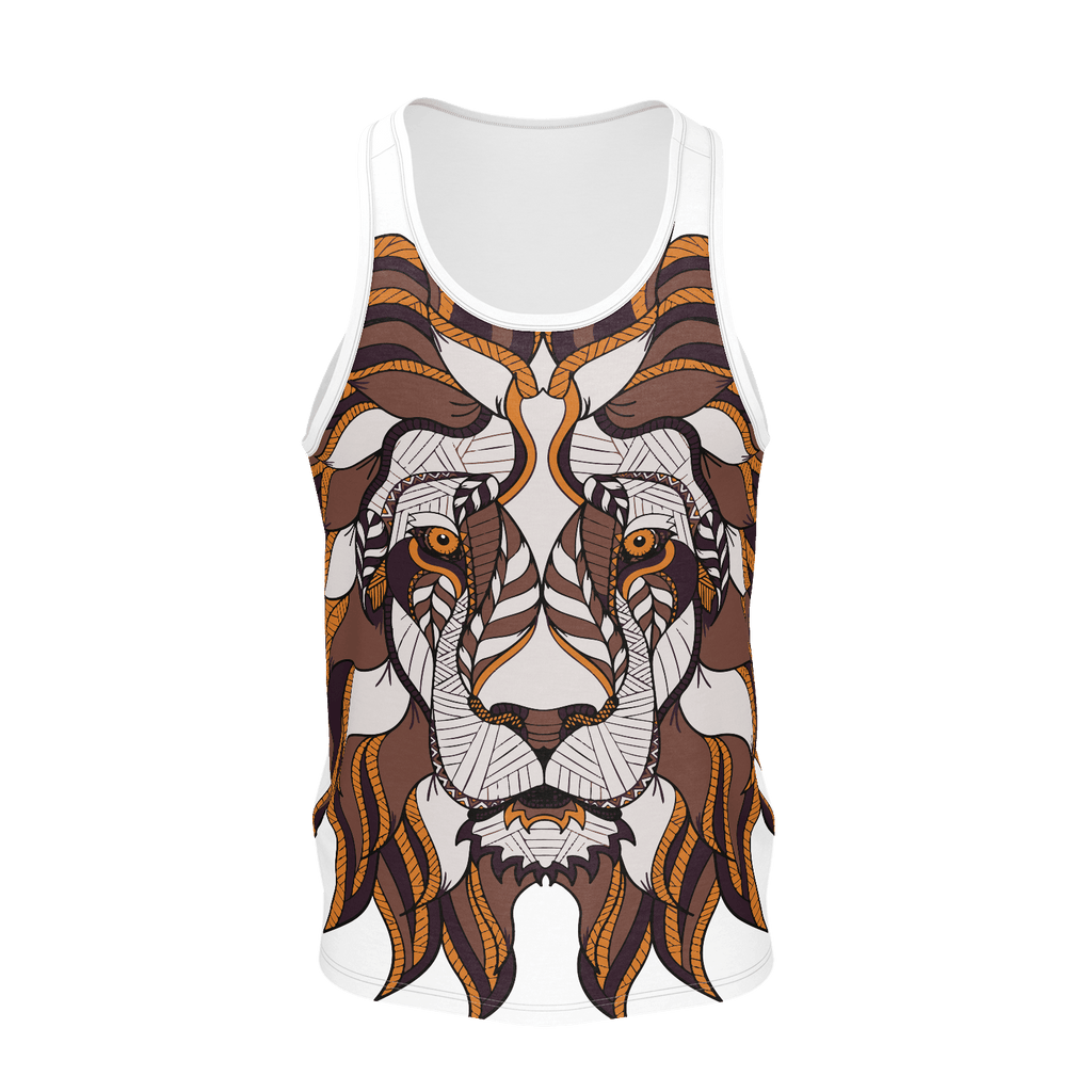 African Lion King Tank Top