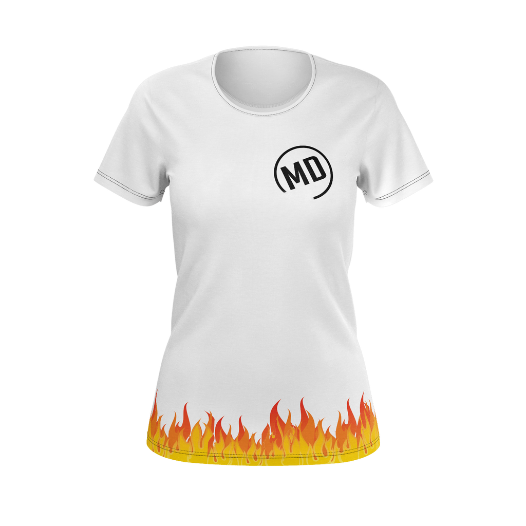 Lit Fire Woman T-shirt