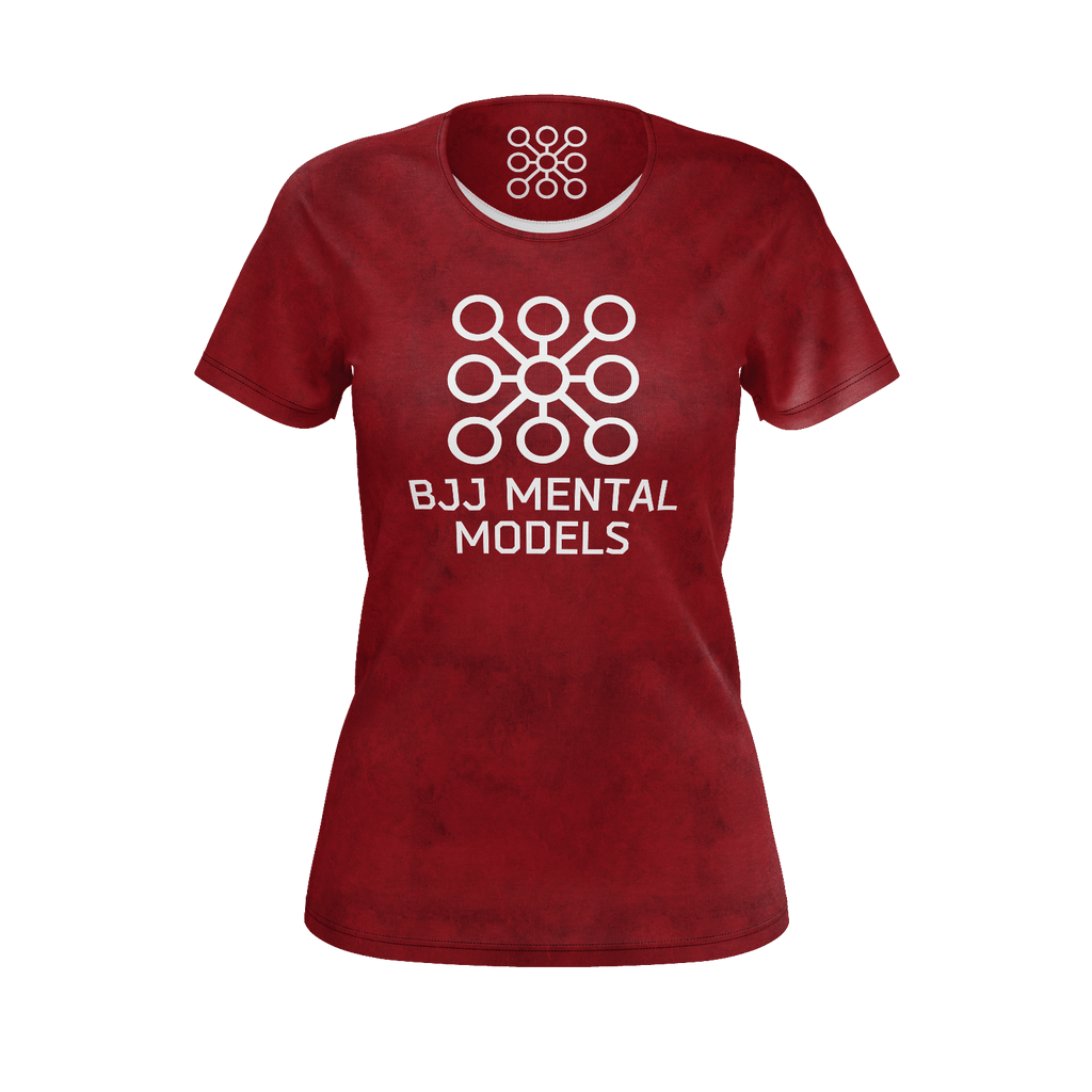 Women's red logo shirt - jersey