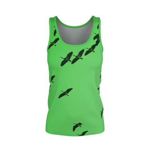 IbisSky Green Tank Top