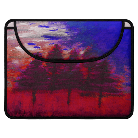 Red Forest Envelope Laptop Sleeve