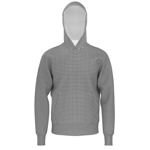 dotted hoodie