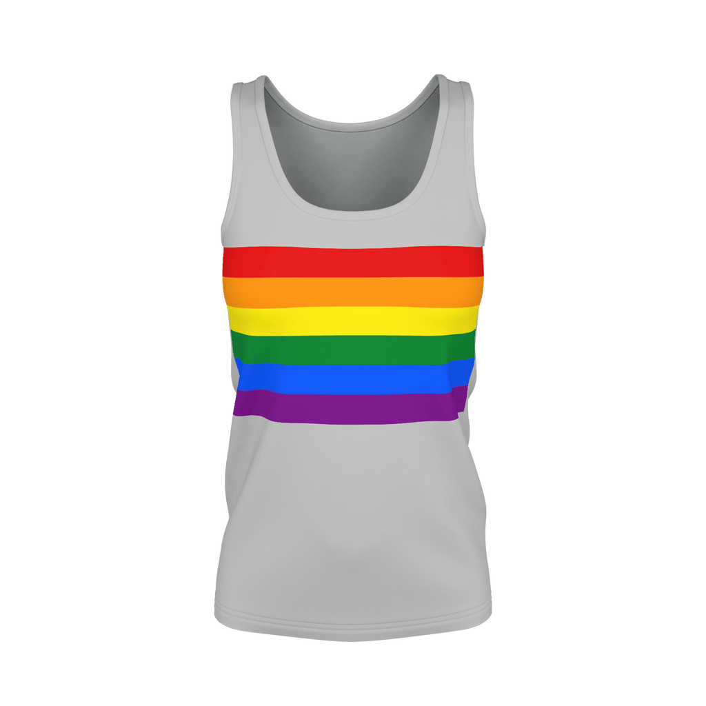LGBT Color Meanings, Woman's Grey Tank-Top