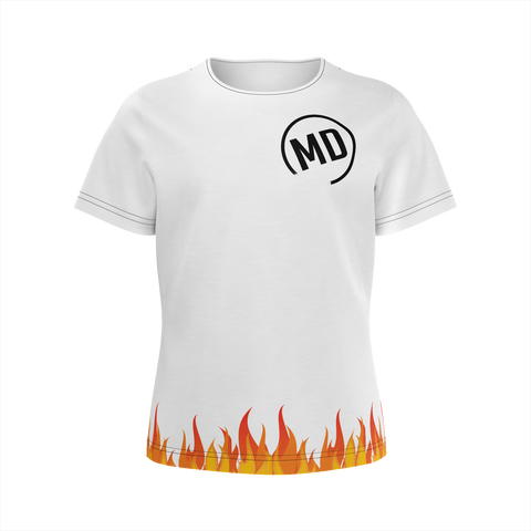 Boys MD Logo Fire T-shirt