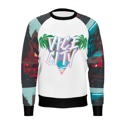 MMM Merchandising Miami Vice Mens Looking Out Sweater
