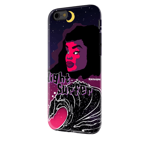 Night Surfer iphone 6s Case