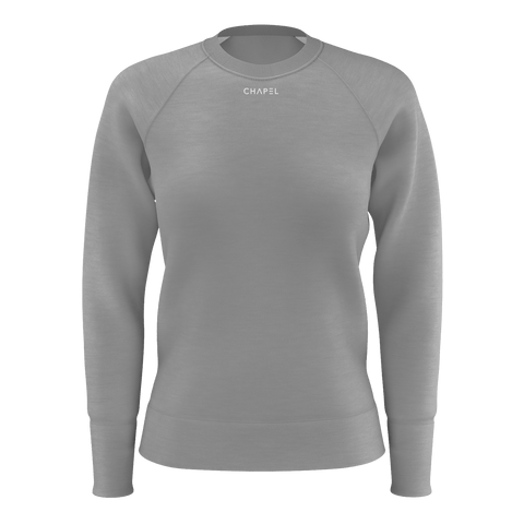 Plus One Grey Womens Jumper