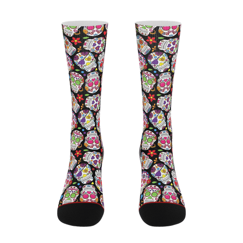 WLDR Sugar Skull Socks