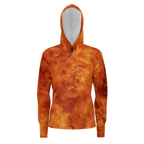 FIRE PULL OVER HOODIE2  WOMENS