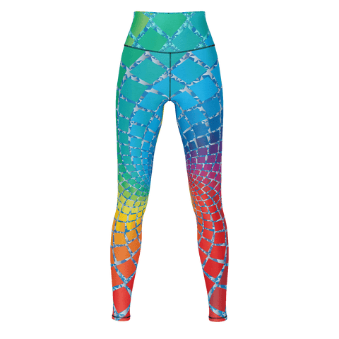 AA Yoga Pants Rainbow 2