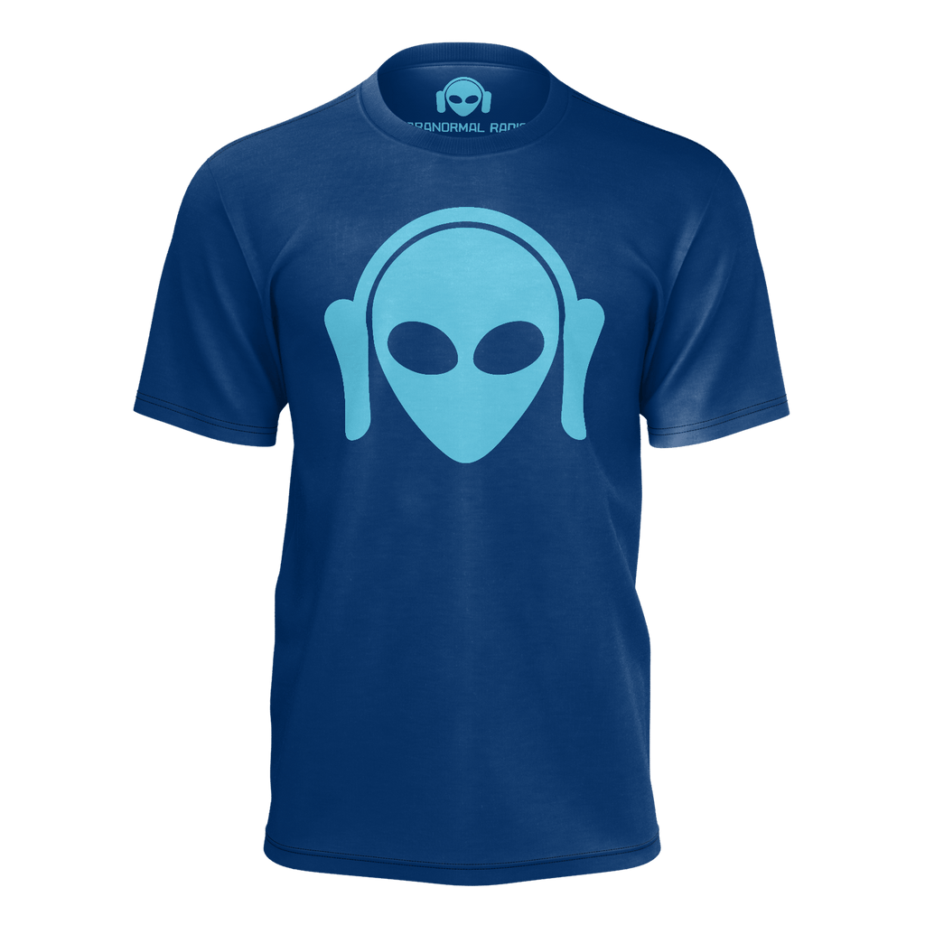 Paranormal Men - Blue t shirt