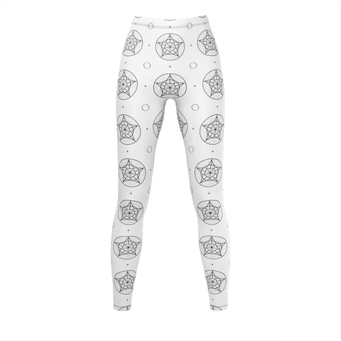 Bone Pattern LRG Leggings