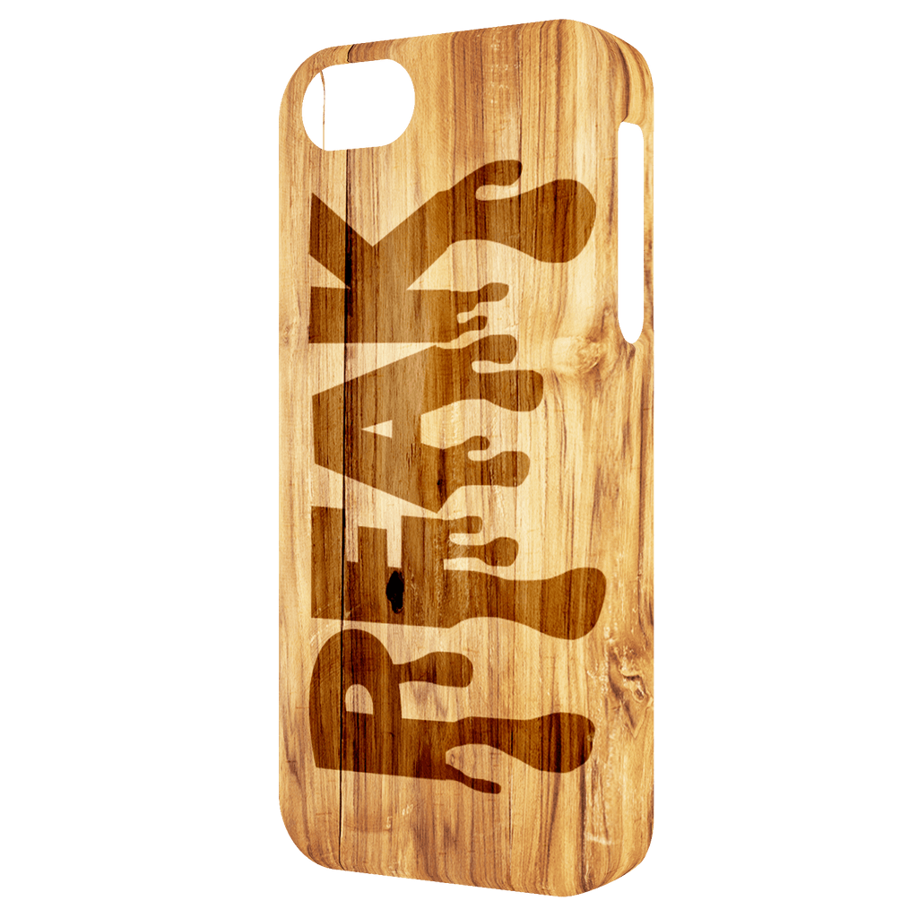 Wooden Design iPhone 5/iPhone 5S/iPhone SE Peak Tough Case