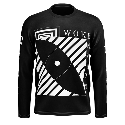 Woke Entity Stripped Long Sleeve