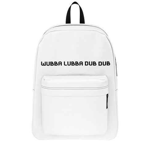 Wabba Lubba Dub Dub Rick and Morty Backpack for Minimalists